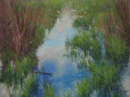 Pastel Painting: Marsh Madness