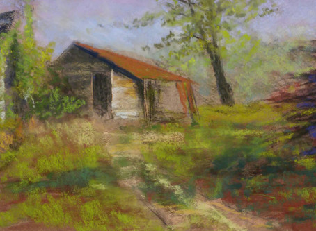 StudioSense: Starting a Pastel Painting