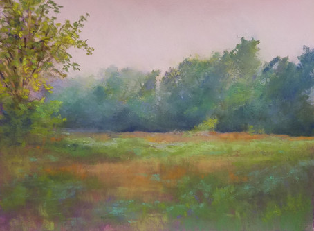 Fresh off the Easel: Muggy Morning