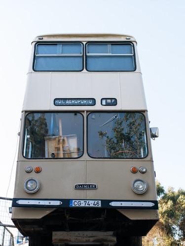 Double Decker Bus #VillageUnderground #Lisbon