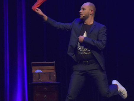 Zaubershows während Corona