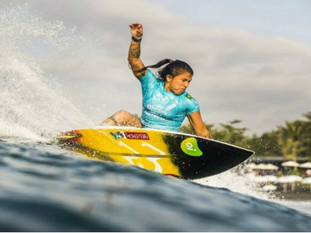 Silvana Lima, atleta da elite do surf mundial, disputará o Neutrox Weekend em Itacaré