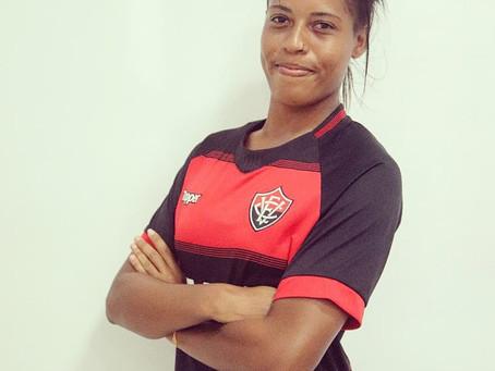 """Saiba mais da nova atleta do Vitória, a itacareense Gabrielle """"Itacaré"""""""