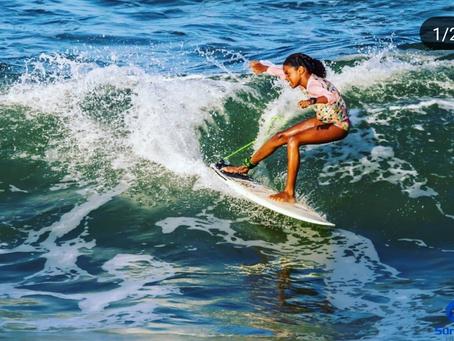 Itacareense foi destaque em filmagem de programa de surf feminino do Canal Off que vai ao ar em 2020