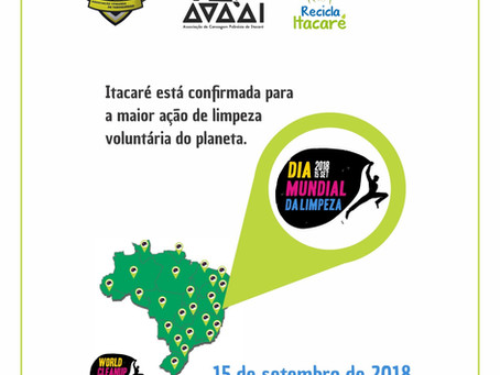 Entidades de Itacaré se reúnem para ação no Dia Mundial da Limpeza