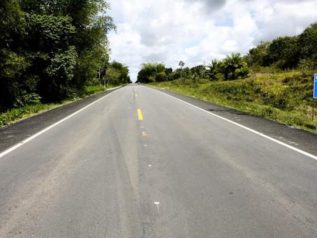 Trecho que liga Valença a Itacaré deve começar a ser restaurado na próxima semana