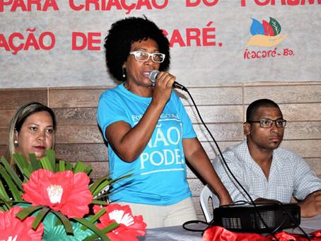 Audiência discute constituição do Fórum de Educação de Itacaré