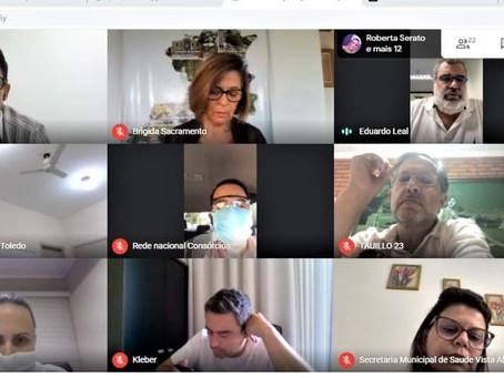 Itacaré participa de videoconferência sobre compra de vacinas contra Covid
