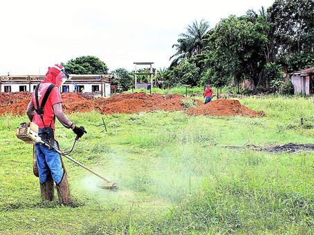 Começam obras doEstádio Municipal de Itacaré