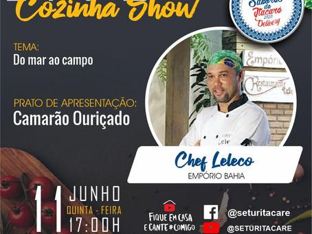 Se programe para lives do Festival Sabores de Itacaré, versão delivery
