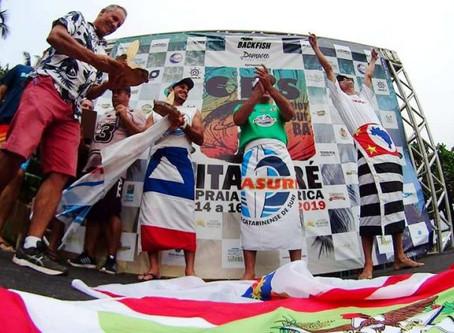 São Paulo é campeã por equipes na abertura do CBSurf Junior Tour em Itacaré-BA