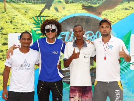 Mais uma rodada do Campeonato de Futebol de Areia movimenta Itacaré