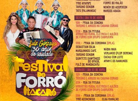 Matéria da Folha de São Paulo cita Festival de Forró de Itacaré entre os principais do Nordeste