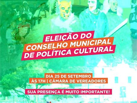 Itacaré realizará assembleia para eleição do Conselho de Cultura