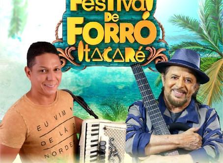 Targino Gondim divulga vídeo promocional do 4º Festival de Forró de Itacaré
