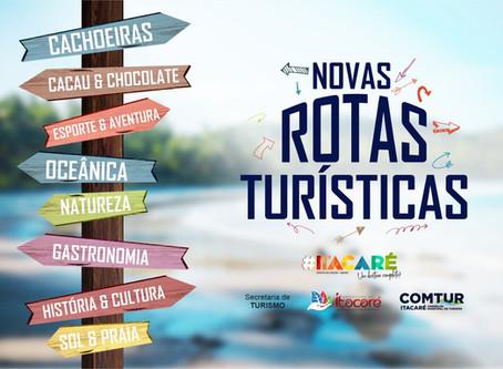 Conheça as Novas Rotas Turísticas de Itacaré !