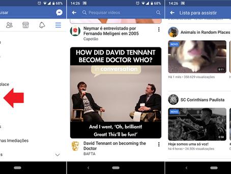 Facebook lança rival do YouTube no Brasil; conheça