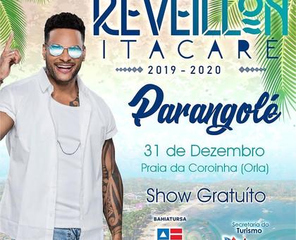 Parangolé é a primeira atração do Reveillon gratuito de Itacaré