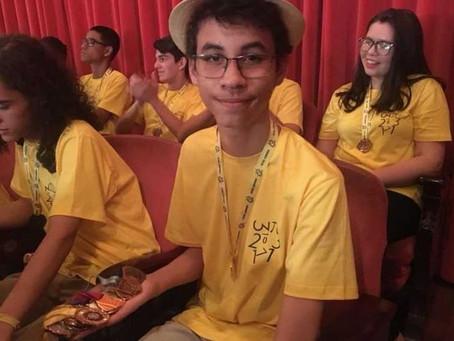 Aluno baiano, de escola pública, conquista ouro na OBMEP