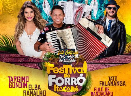 Confira a apresentação do 3º Festival de Forró de Itacaré