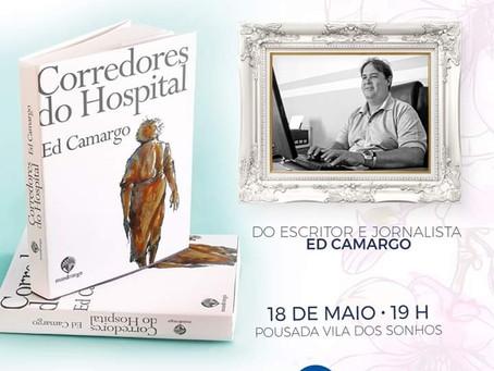 Escritor Ed Camargo lançará seu novo livro no próximo dia 18