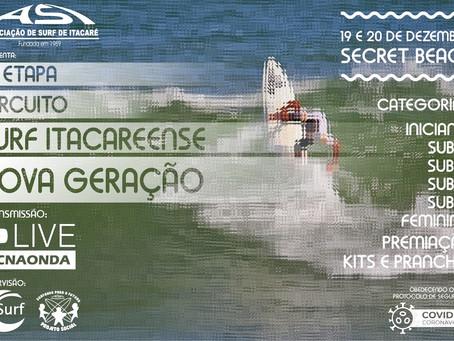 Campeonato de Surf de Itacaré será realizado em dezembro com protocolos de segurança