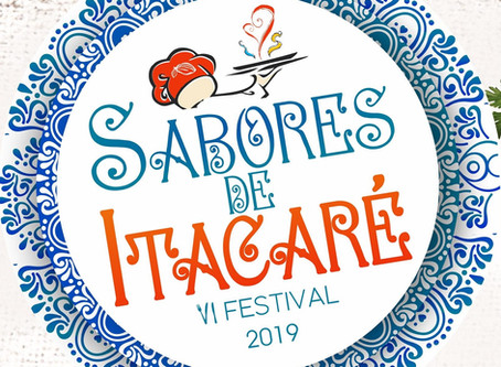 Vem aí o 6º Festival Sabores de Itacaré  de 25 a 28 de julho. Assista vídeo promocional!