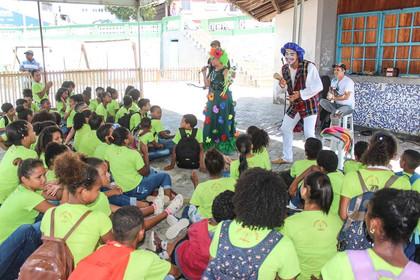 Estudantes de Itacaré participam nesta5ª do Projeto Lápis na Mão