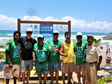 Mundial de Surf em Itacaré reuniu atletas de seis países