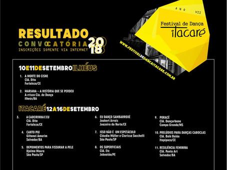 7º Festival de Dança Itacaré acontece em setembro. Veja programação!