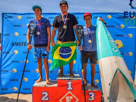 Atleta de Itacaré conquista etapa do circuito Mundial Pro Junior de SUP Race disputado na Espanha
