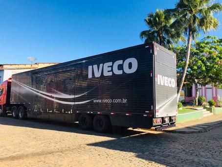 Empresa Iveco e Prefeitura de Itacaré realizam ação solidária em Taboquinhas