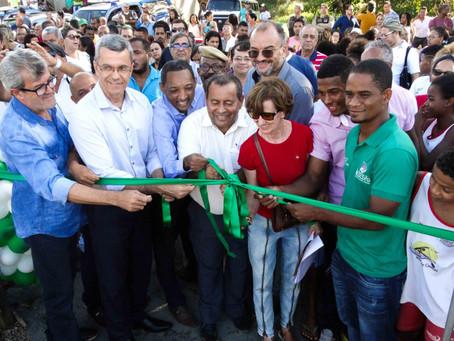 Prefeitura e Estado inauguram Centro de Canoagem de Itacaré