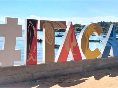 Prefeitura de Itacaré instala  letreiro para fotos na orla