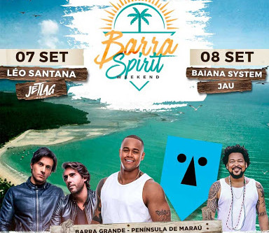 Barra Spirit Weekend vai movimentar Barra Grande