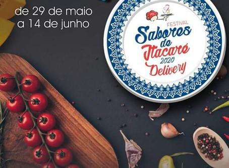 Festival Gastronômico Sabores de Itacaré será realizado na versão delivery