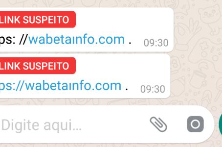WhatsApp vai avisar quando link for suspeito para que você NÃO CLIQUE