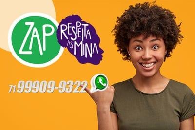 Secretaria de política para mulheres da Bahia lança whatsapp de combate a violência doméstica