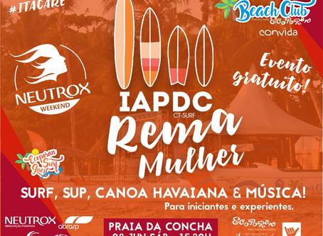 """Ecoporan Surf Guest convida para o """"Rema Mulher"""""""