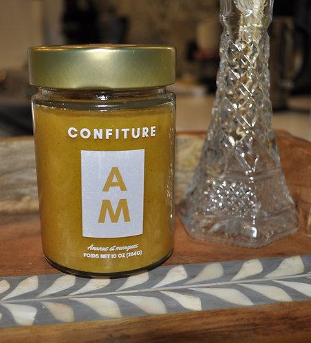 Confiture AM (Pineapple and mango jam)