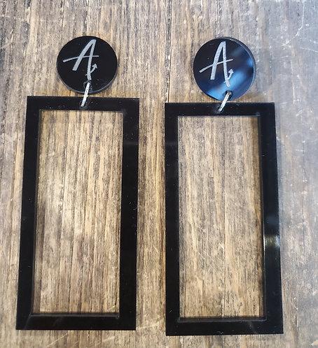 Doudou Zanno - All black rectangles