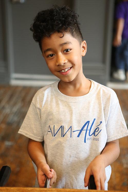 The Jayden-Clark - Children Ann Alé t-shirt  in grey