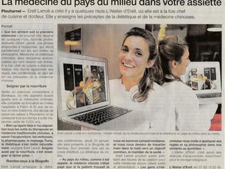 ON PARLE DE L'ATELIER DANS LE OUEST FRANCE - Merci à Déborah et Nicolas pour ce bel article