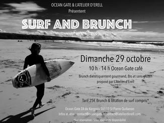 Dimanche 29 octobre - SURF AND BRUNCH à l'Ocean Gate Café