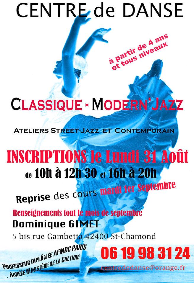 Affiche Centre De Danse 2020-2021 - copi