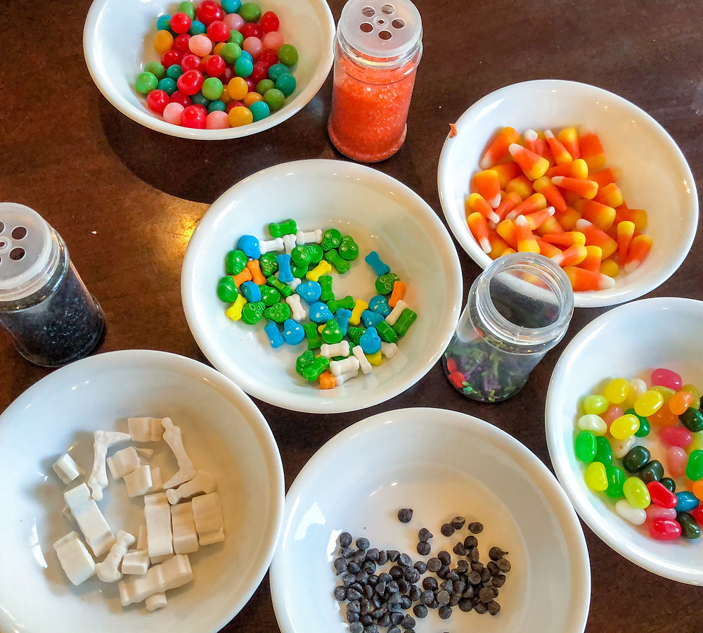 candy for the gingerbread house