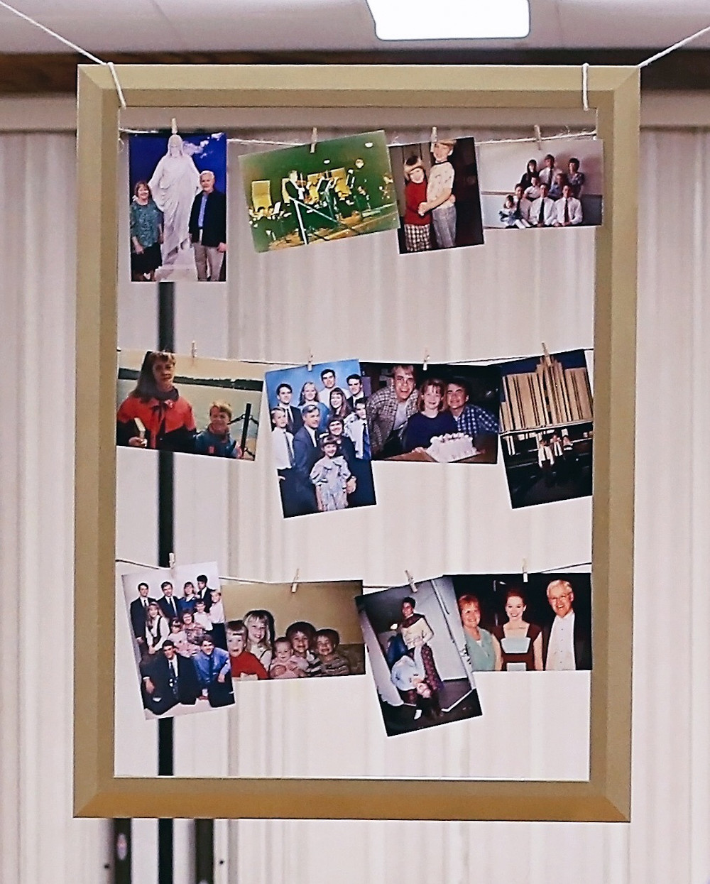 cheap photo display party decorations