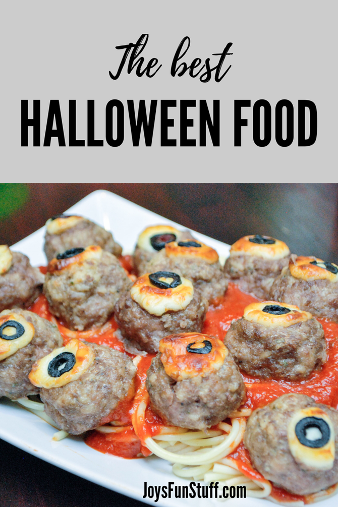 The Funniest, Grossest, Yummiest, Spookiest, Best-Ever Halloween Food