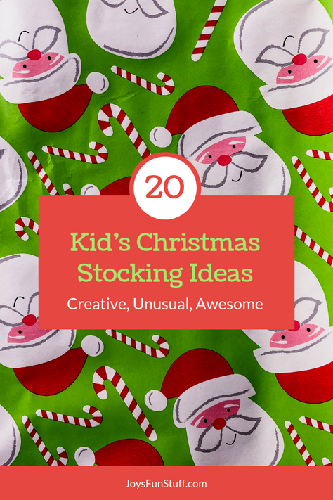 Christmas Stockings Stuffers that are Creative, Unusual, & Non-Junk (because Santa loves YOU)