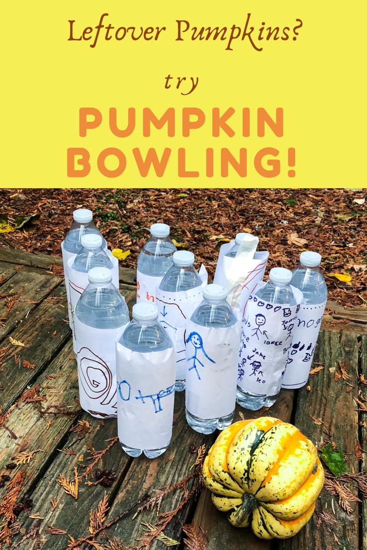 thanksgiving tradition pumpkin bowling